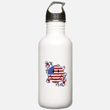 Fourth 4th Of July Water Bottle