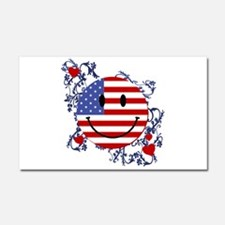 Fourth 4th Of July Car Magnet 20 x 12