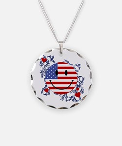 Fourth 4th Of July Necklace