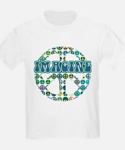 Cool 70s Retro Peace T-Shirt
