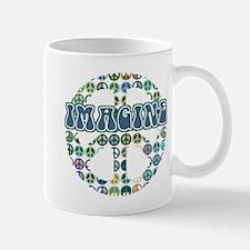 Cool 70s Retro Peace Mug