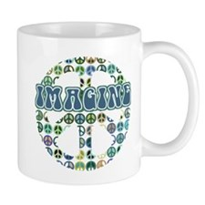 Cool 70s Retro Peace Mug