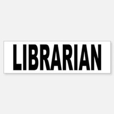 Librarian Sticker (Bumper)