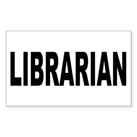 Librarian Sticker (Rectangle)