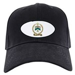 SANFACON Family Crest Black Cap