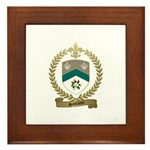 SANFACON Family Crest Framed Tile
