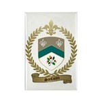 SANFACON Family Crest Rectangle Magnet