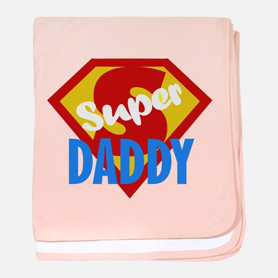 Dad Daddy Fathers Day baby blanket