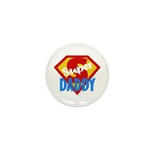 Dad Daddy Fathers Day Mini Button (10 pack)