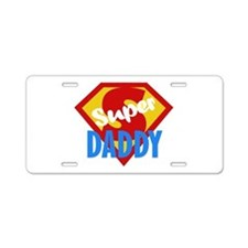 Dad Daddy Fathers Day Aluminum License Plate