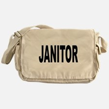 Janitor Messenger Bag