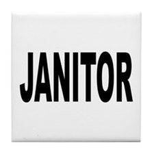 Janitor Tile Coaster