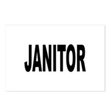 Janitor Postcards (Package of 8)