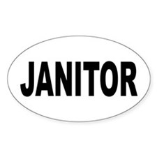 Janitor Decal
