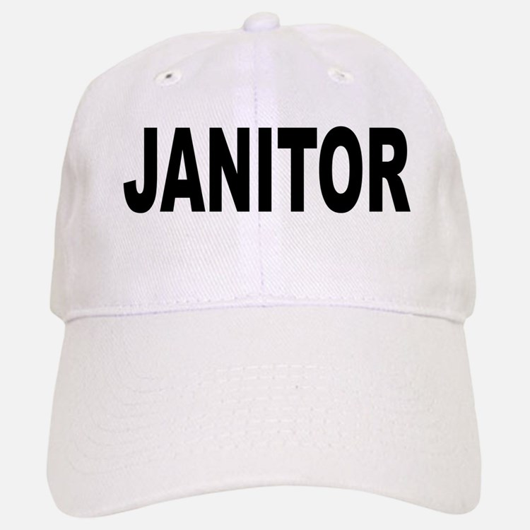 Janitor Baseball Baseball Cap