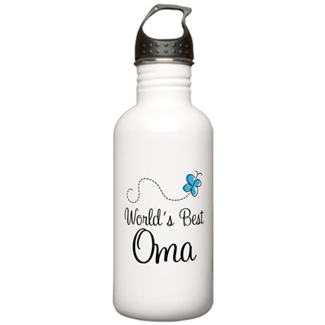 Oma (World's Best) Stainless Water Bottle 1.0L