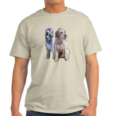 two Irish wolhounds Light T-Shirt