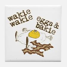 Rise and Shine Breakfast Tile Coaster