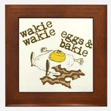 Rise and Shine Breakfast Framed Tile