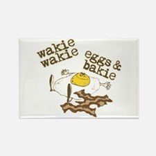 Rise and Shine Breakfast Rectangle Magnet