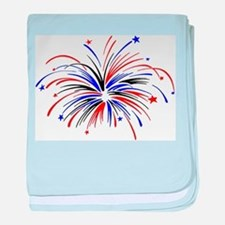 Fireworks Infant Blanket