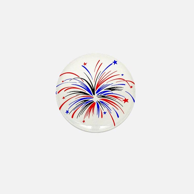 Fireworks Mini Button