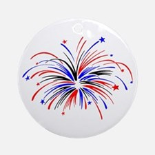 Fireworks Keepsake (Round)