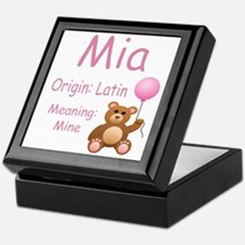 Top 10 Girl Names Keepsake Box