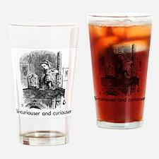 Unique Bicurious Drinking Glass