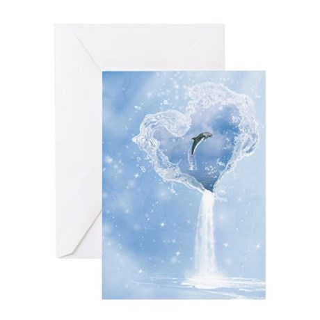 The Heart Of The Ocean Greeting Card