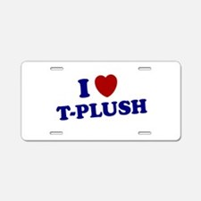 T-PLUSH T PLUSH SHIRT TEE NYG Aluminum License Pla