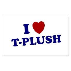 T-PLUSH T PLUSH SHIRT TEE NYG Decal