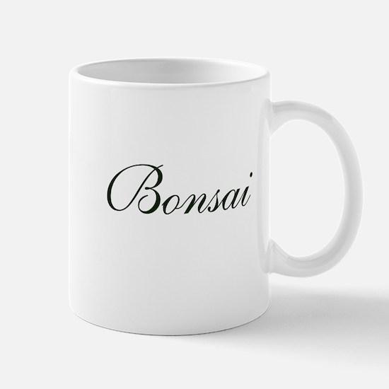 BONSAI (text) Mug