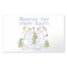 Funny Winter Snow Humor Decal