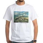Los Angeles Skyline White T-Shirt