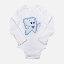 Funny Dentist Dental Humor Long Sleeve Infant Body