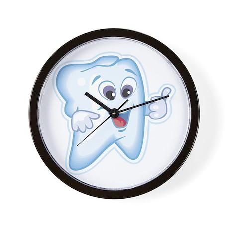 Funny Dentist Dental Humor Wall Clock