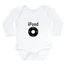 iPood Long Sleeve Infant Bodysuit