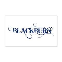BLACKBURN 22x14 Wall Peel