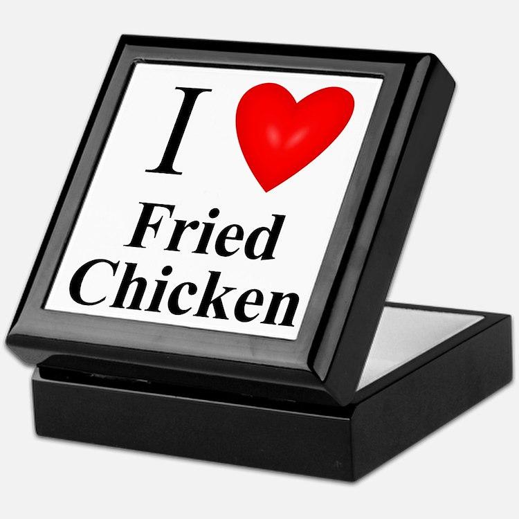 Cute Love fried chicken Keepsake Box