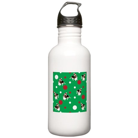 Holiday Bassets Stainless Water Bottle 1.0L