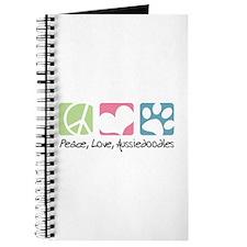Peace, Love, Aussiedoodles Journal