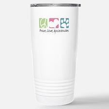 Peace, Love, Aussiedoodles Travel Mug