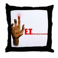 E.T. The Movie Throw Pillow