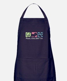 Peace, Love, Malti Tzus Apron (dark)