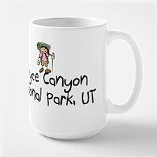 Hike Bryce Canyon (Girl) Large Mug