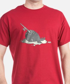 Sad Narwhal T-Shirt