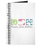 Peace, Love, Morkies Journal