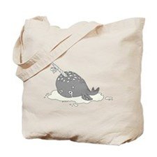 Sad Narwhal Tote Bag