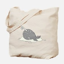 Sad Narwhal Tote Bag